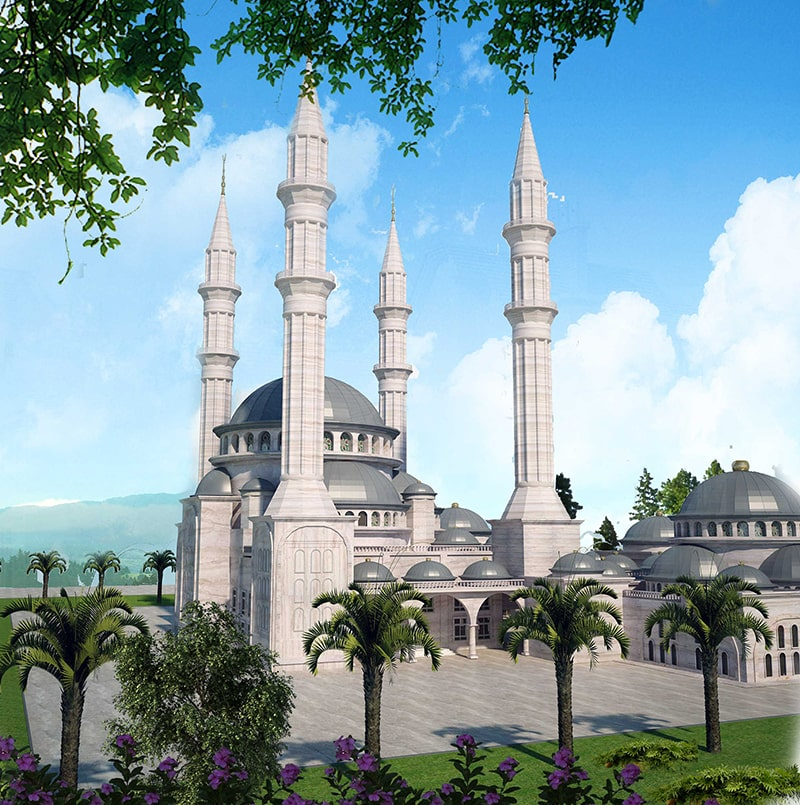 islami-kulter-merkezi-camii